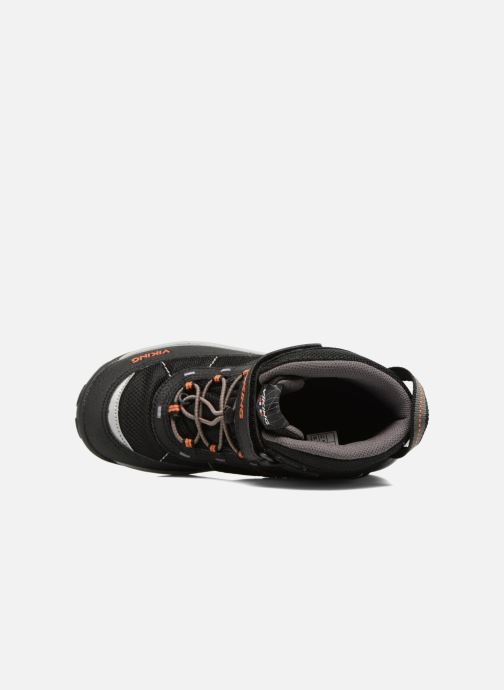 Zapatillas de deporte Viking Sludd El/Vel GTX Negro vista lateral izquierda