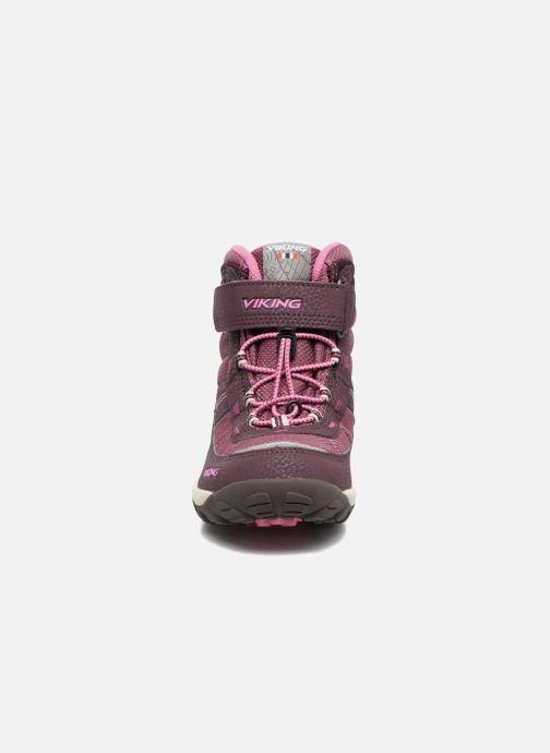 Chaussures de sport Viking Sludd El/Vel GTX Violet vue portées chaussures