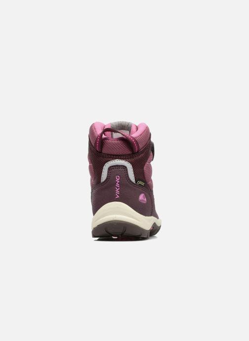 Chaussures de sport Viking Sludd El/Vel GTX Violet vue droite