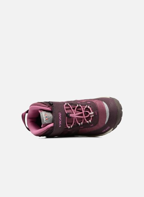 Zapatillas de deporte Viking Sludd El/Vel GTX Violeta      vista lateral izquierda
