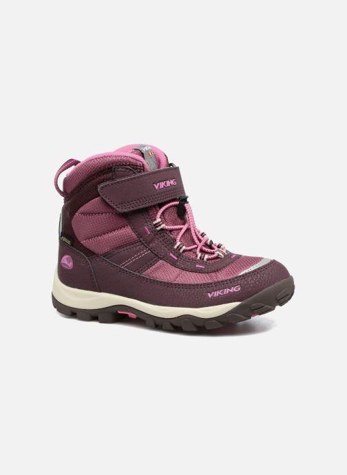 Chaussures de sport Viking Sludd El/Vel GTX Violet vue détail/paire