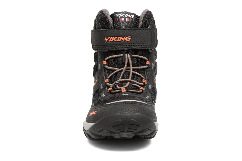 Sportschuhe Viking Sludd El/Vel GTX schwarz schuhe getragen