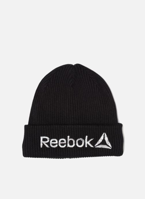 Hue Reebok Act Enh Logo Beanie Sort detaljeret billede af skoene
