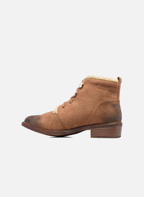 Bottines et boots Divine Factory Hotilie Marron vue face