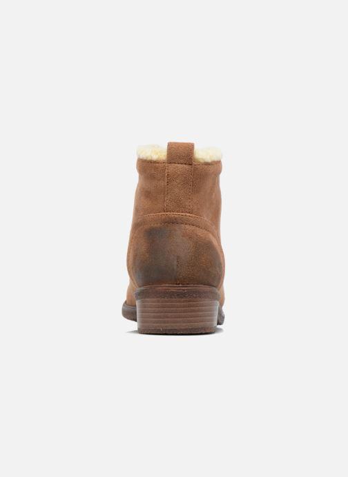 Bottines et boots Divine Factory Hotilie Marron vue droite