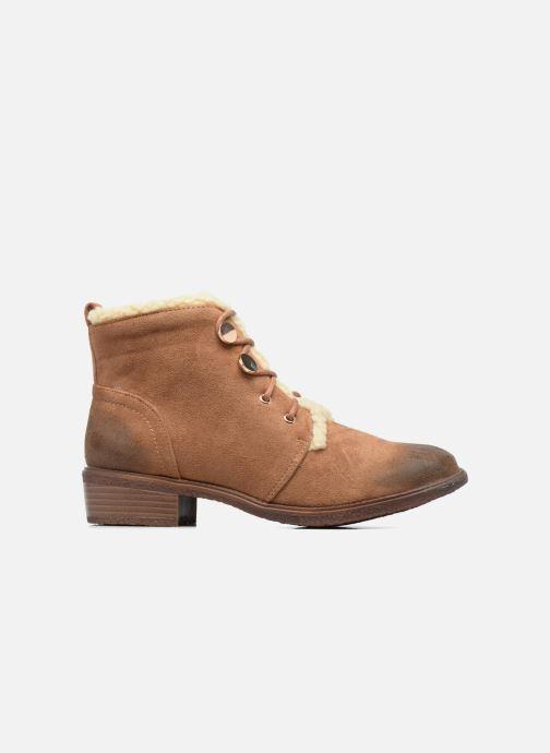 Bottines et boots Divine Factory Hotilie Marron vue derrière