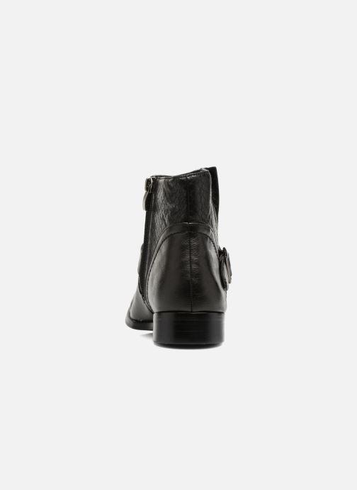 Bottines et boots Divine Factory Geina Noir vue droite