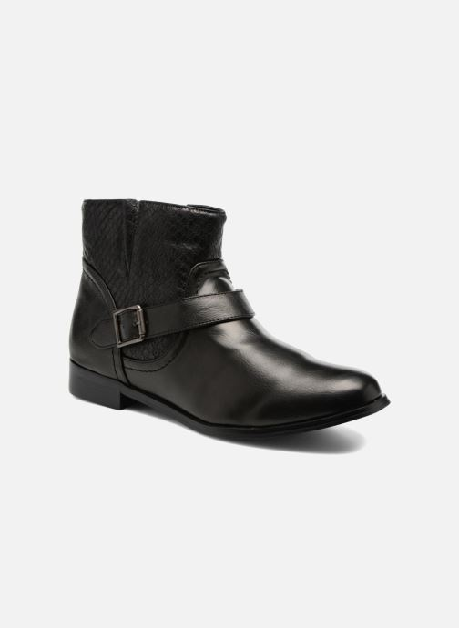 Ankle boots Divine Factory Geina Black detailed view/ Pair view