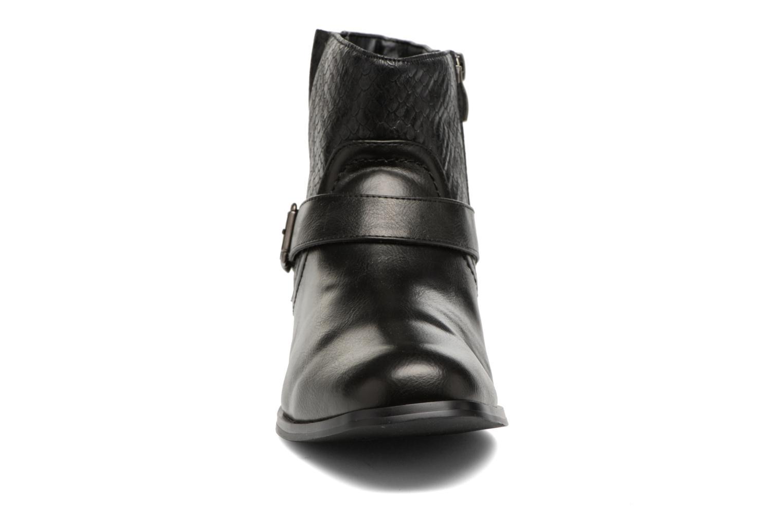 Bottines et boots Divine Factory Geina Noir vue portées chaussures