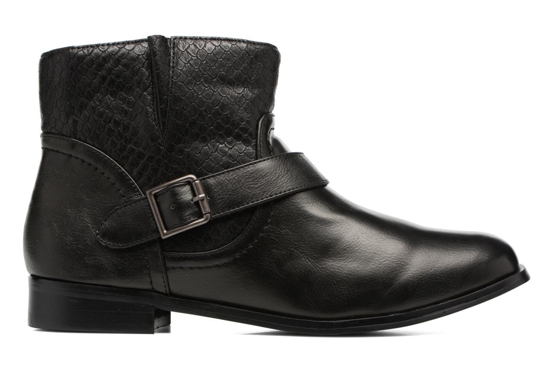 Bottines et boots Divine Factory Geina Noir vue derrière
