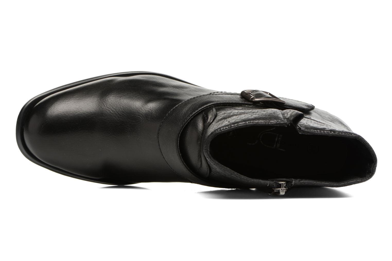 Bottines et boots Divine Factory Geina Noir vue gauche