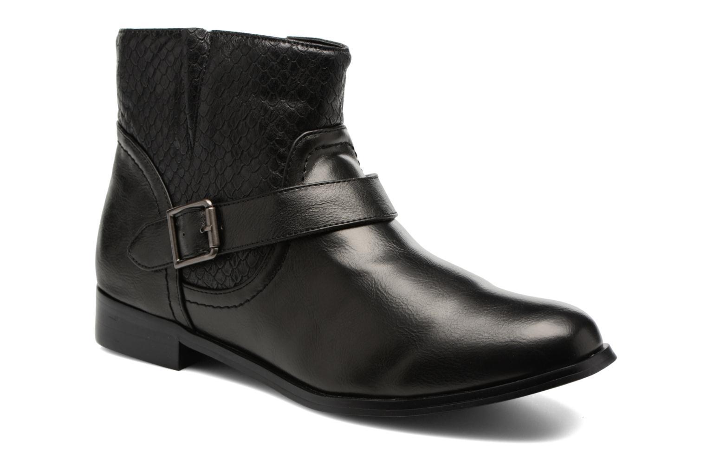 Bottines et boots Divine Factory Geina Noir vue détail/paire