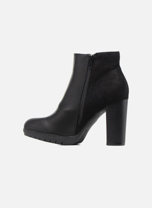 Bottines et boots Divine Factory Soon Noir vue face