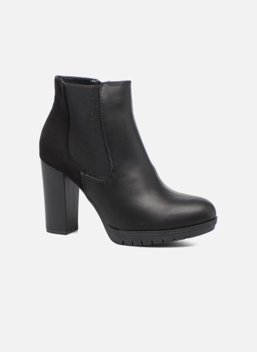 Ankle boots Divine Factory Soon Black detailed view/ Pair view