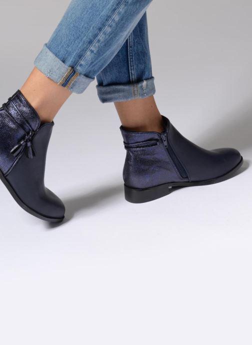 Boots en enkellaarsjes Divine Factory Hikni Blauw onder