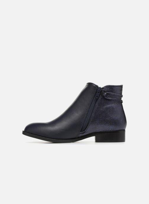 Boots en enkellaarsjes Divine Factory Hikni Blauw voorkant