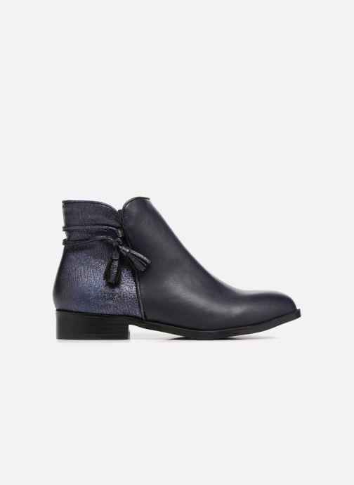Boots en enkellaarsjes Divine Factory Hikni Blauw achterkant