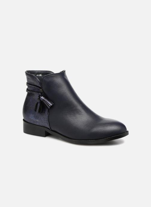 Boots en enkellaarsjes Divine Factory Hikni Blauw detail