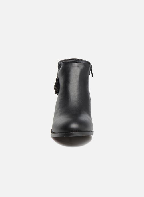 Bottines et boots Divine Factory Hikni Noir vue portées chaussures