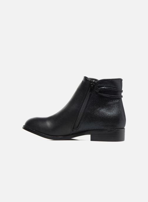 Bottines et boots Divine Factory Hikni Noir vue face
