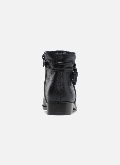 Bottines et boots Divine Factory Hikni Noir vue droite