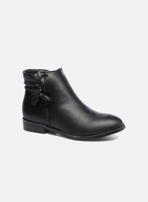 Bottines et boots Divine Factory Hikni Noir vue détail/paire