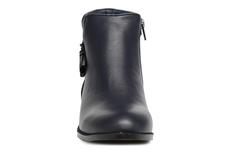 Bottines et boots Divine Factory Hikni Bleu vue portées chaussures