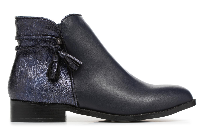 Bottines et boots Divine Factory Hikni Bleu vue derrière