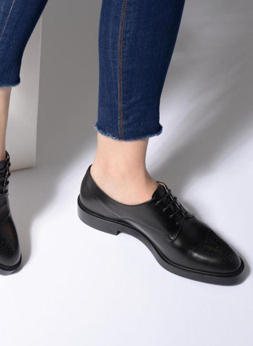 Chaussures à lacets Fratelli Rossetti 75406 Noir vue bas / vue portée sac