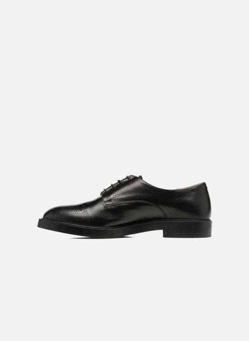 Chaussures à lacets Fratelli Rossetti 75406 Noir vue face