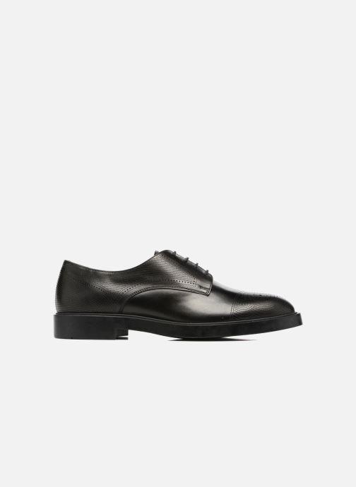 Chaussures à lacets Fratelli Rossetti 75406 Noir vue derrière