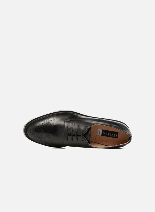 Chaussures à lacets Fratelli Rossetti 75406 Noir vue gauche