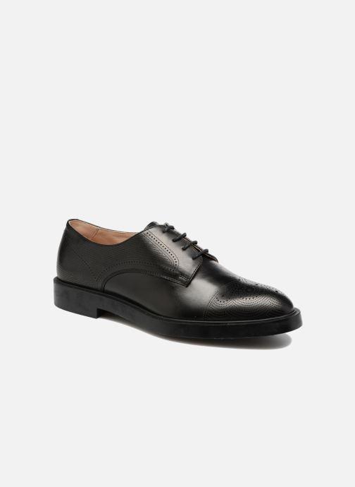 Chaussures à lacets Fratelli Rossetti 75406 Noir vue détail/paire
