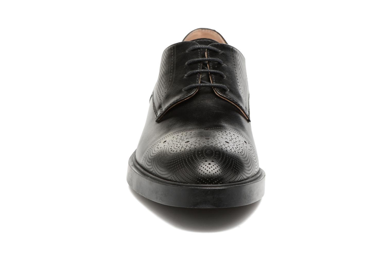 Zapatos con cordones Fratelli Rossetti 75406 Negro vista del modelo