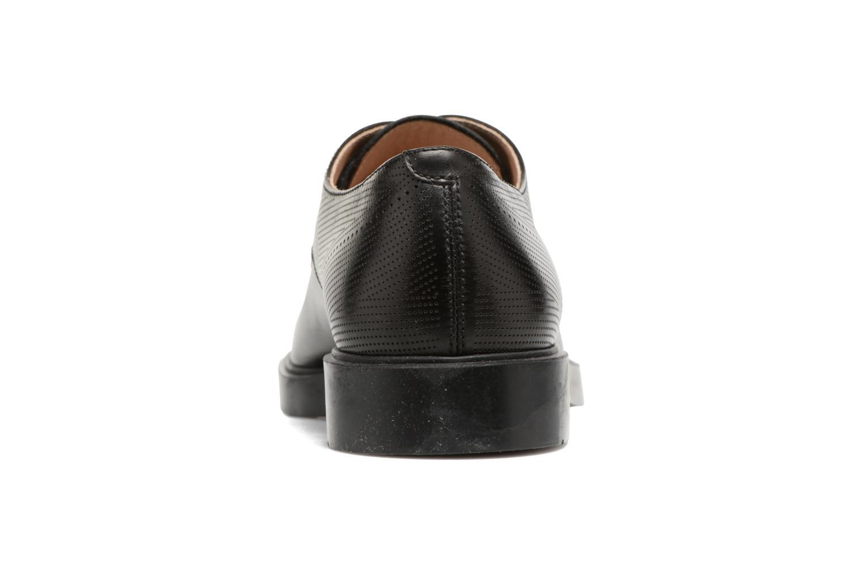 Zapatos con cordones Fratelli Rossetti 75406 Negro vista lateral derecha