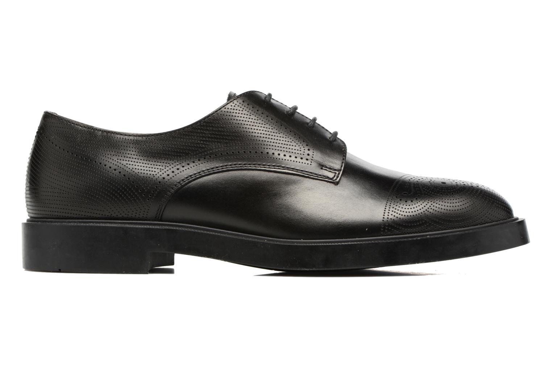 Zapatos con cordones Fratelli Rossetti 75406 Negro vistra trasera