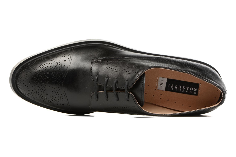 Zapatos con cordones Fratelli Rossetti 75406 Negro vista lateral izquierda