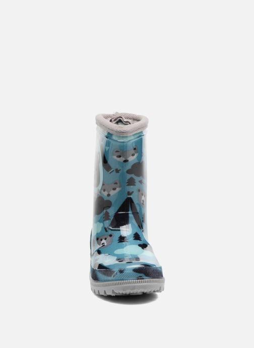 Bottes Be Only Kimo Bleu vue portées chaussures