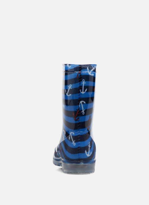 Botas Be only Brieu Flash Azul vista lateral derecha