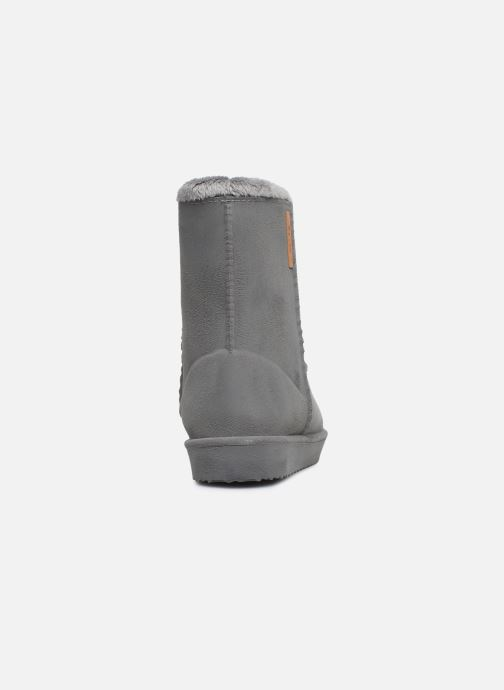 Bottes Be Only Cosy Gris vue droite