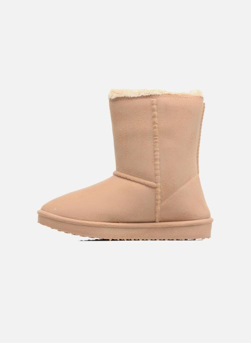Botas Be only Cosy Beige vista de frente