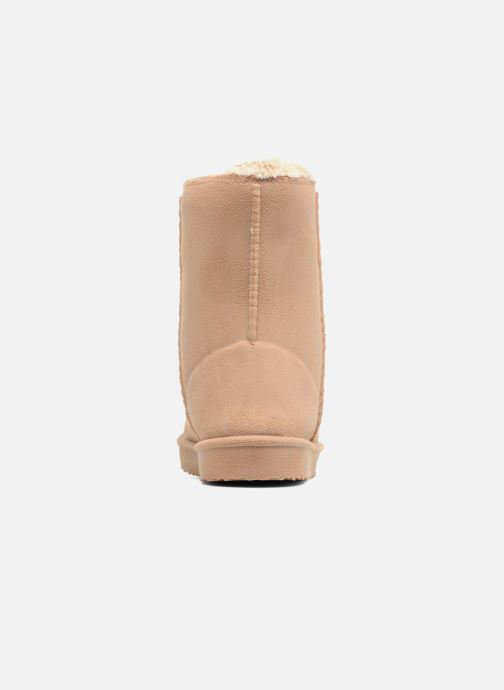 Botas Be only Cosy Beige vista lateral derecha