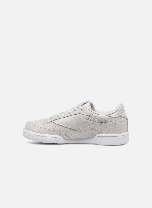 Sneakers Reebok Club C Zilver voorkant