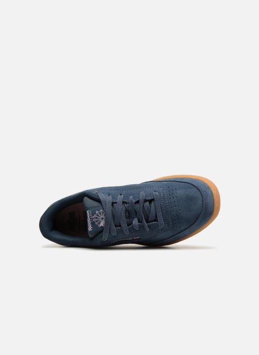 Sneakers Reebok Club C Blauw links