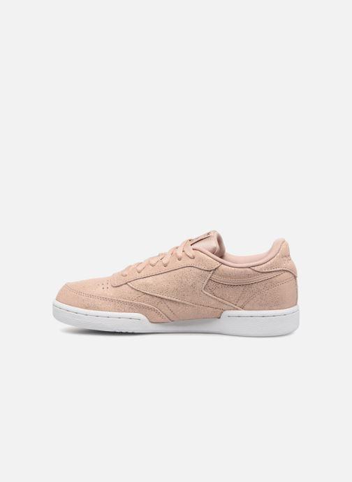 Sneakers Reebok Club C Roze voorkant