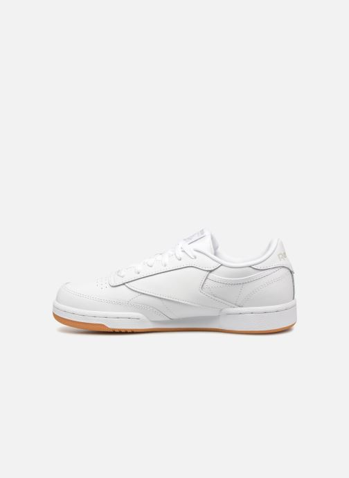 Baskets Reebok Club C Blanc vue face