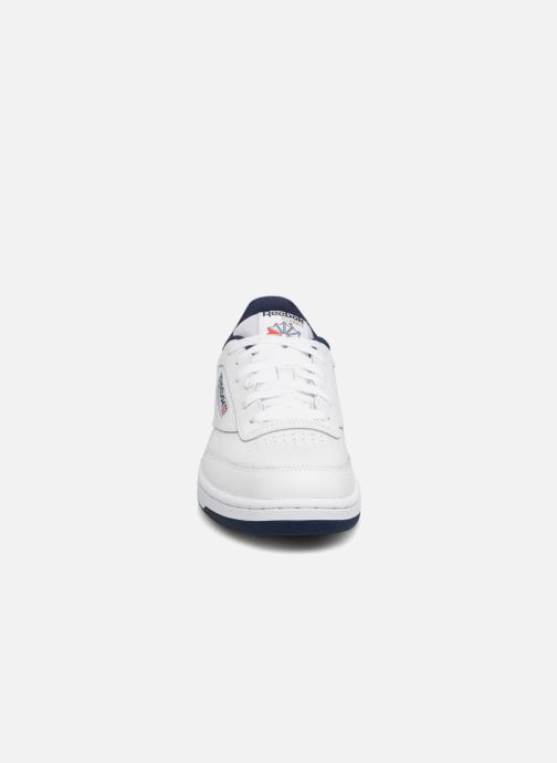 Baskets Reebok Club C Blanc vue portées chaussures