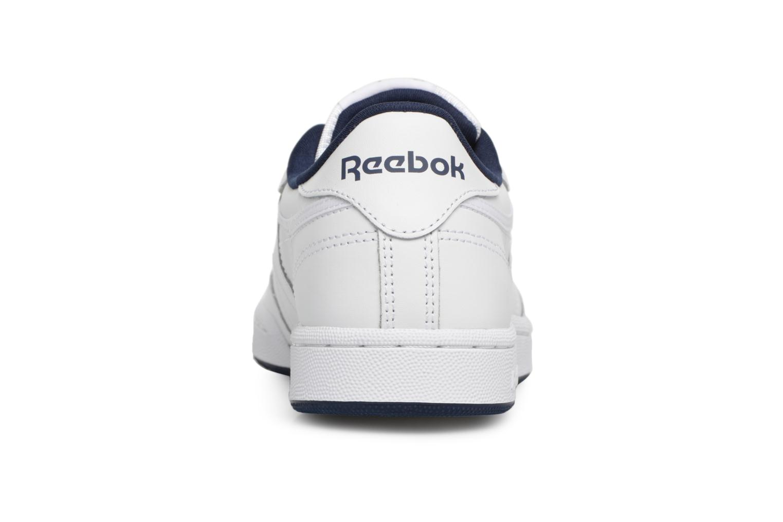 Baskets Reebok Club C Blanc vue droite