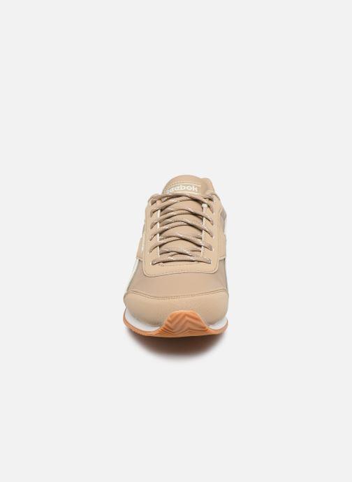 Baskets Reebok Reebok Royal Cljog 2 Beige vue portées chaussures