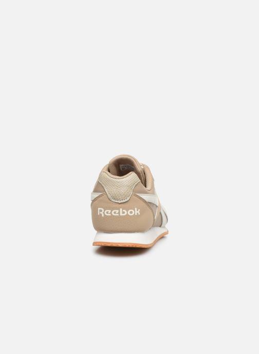 Sneaker Reebok Reebok Royal Cljog 2 beige ansicht von rechts